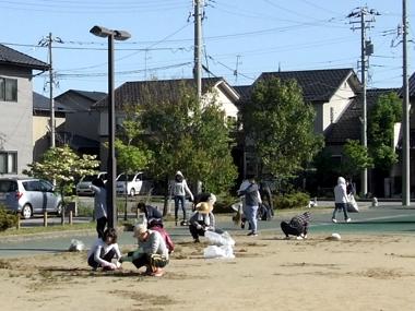 かねと公園清掃4