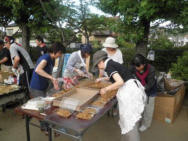千坂町会夏祭り8