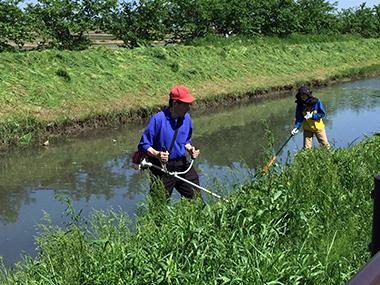 河川敷清掃2