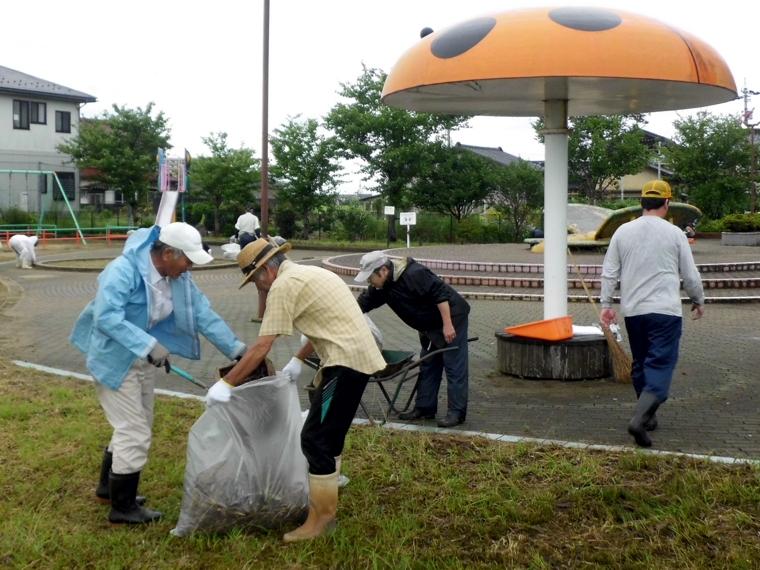 公園清掃8