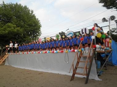 千坂町会夏祭り2