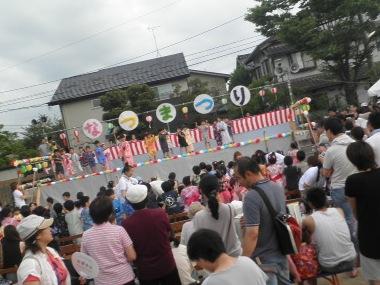 千坂町会夏祭り1