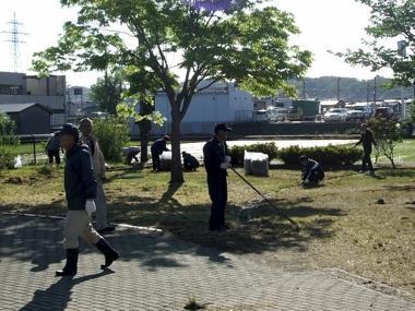 わんぱく公園清掃5