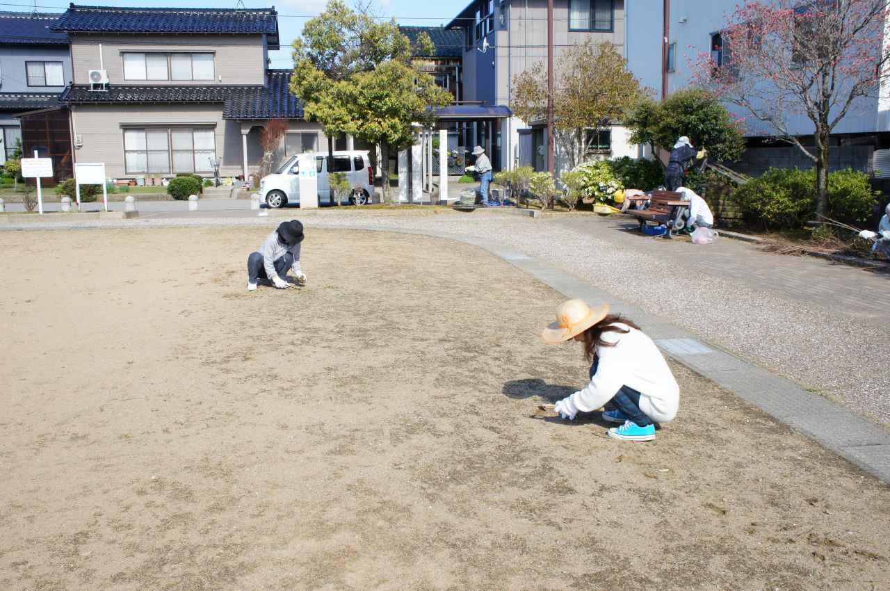 草刈り集団